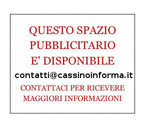 pubblicità giornale cassino informa